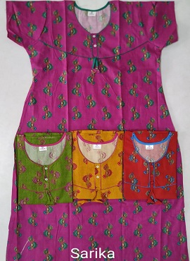 Cotton Nighty 108 Printed Nightsuits Collection