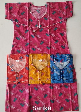 Cotton Nighty 109 Printed Nightsuits Collection
