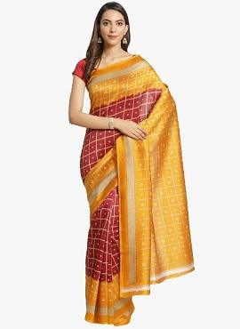 Bhagalpuri 9 Casual Wear Printed Bhagalpuri Silk Sarees Collection