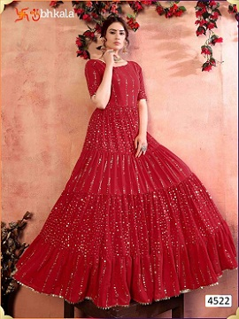 Kf Flory 4522 Exclusive Designer Ladies Gown Collection