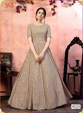 Kf Flory 4523 Exclusive Designer Ladies Gown Collection