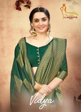 Lakshya Vidya Festive Wear Banarasi Silk Sarees Collection