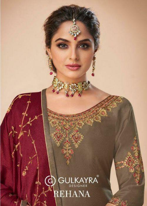 Gulkayra Rehana 1021 Series Churidar Salwar Suits Collection