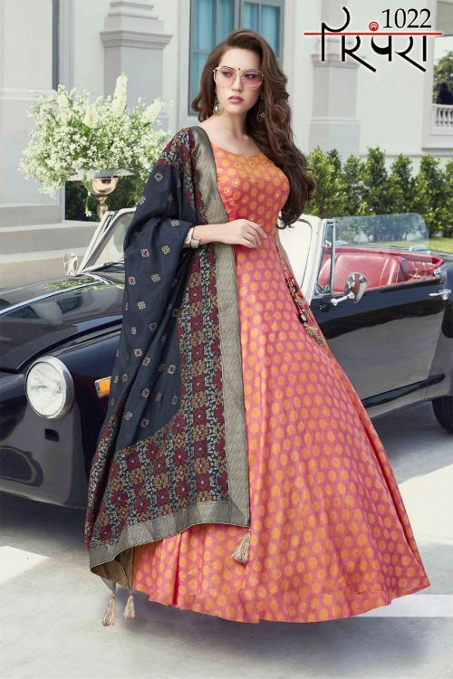 Parmpara 5 Exclusive Fancy Casual Wear Designer Gown Collection