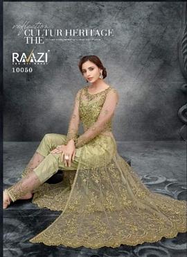 Rama Raazi Aroos 10050 Series Designer Festive Wear Heavy Salwar Kameez Collection