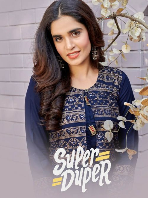 Super Duper Hit Ethnic Wear Long Kurtis Collection