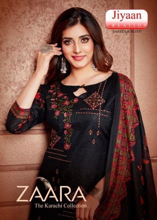 Jiyaan Zaara Casual Wear Printed Cotton Collection