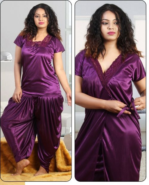 Satin Finesta 4005 Night Suits Collection