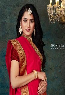 Ronisha Click festive Wear Designer Saree Collection