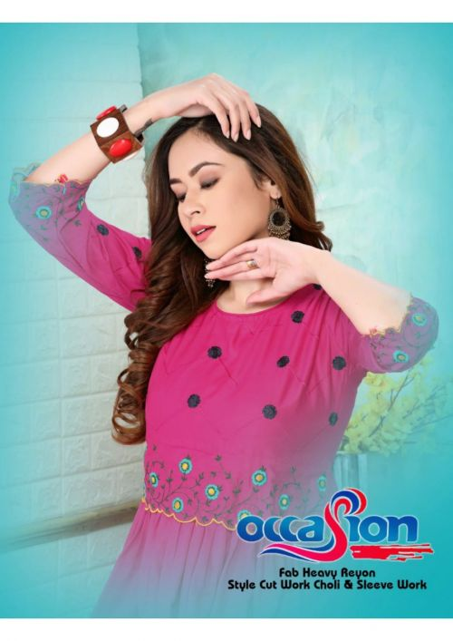 Ft Occasion Ethnic Wear Desinger Kurti Collection