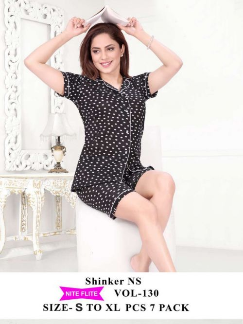 Nite Flite 130 Hosiery Cotton Night Suits Collection