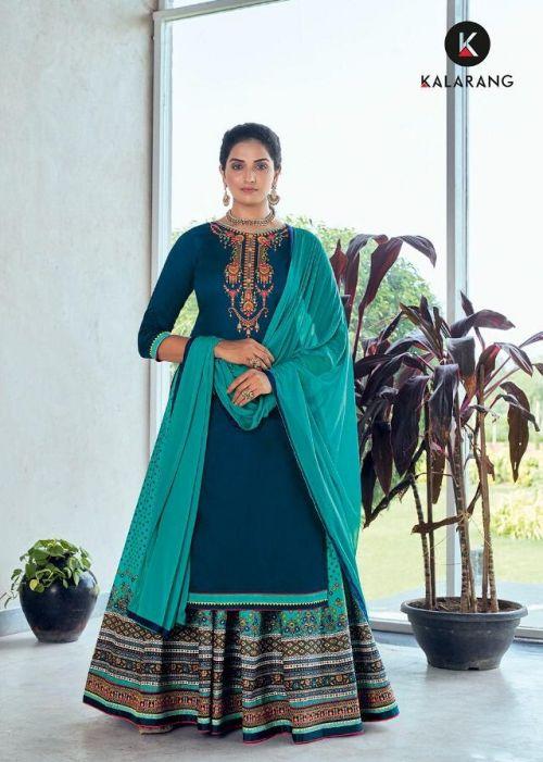 Kalarang Kashvi 2 Festive Wear fancy Designer Salwar Kameez