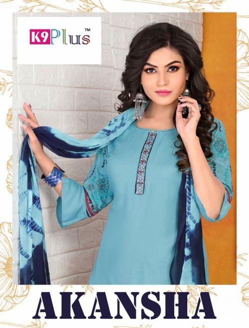 K9 Plus Akansha Ethnic Wear Readymade Dress Collection
