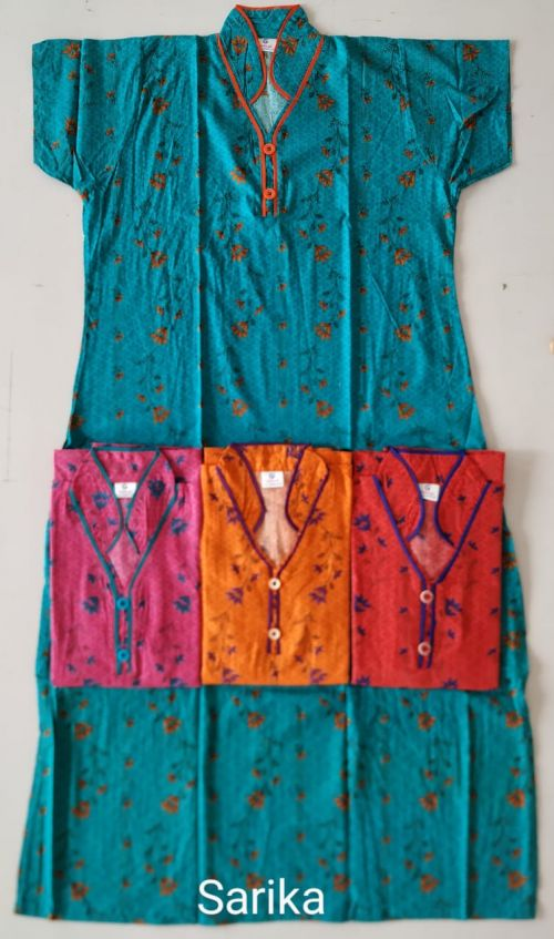 Cotton Nighty 114 Printed Nightsuits Collection