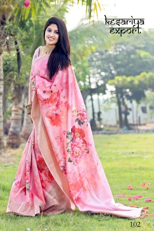 Kesariya Royal Silk Nx