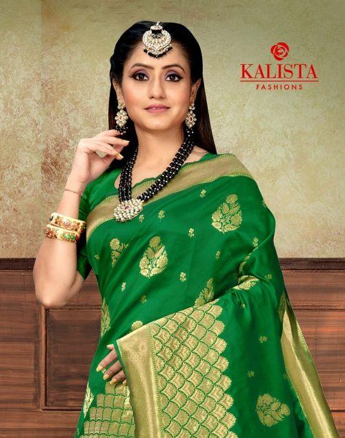 Kalista Vandana Festive Wear Banarasi Silk Saree Collection