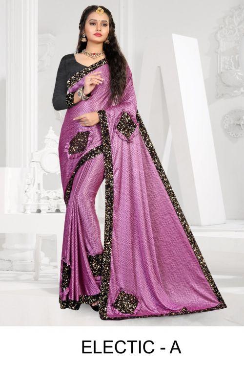 Ronisha Electic Festive Wear Designer Saree Collection