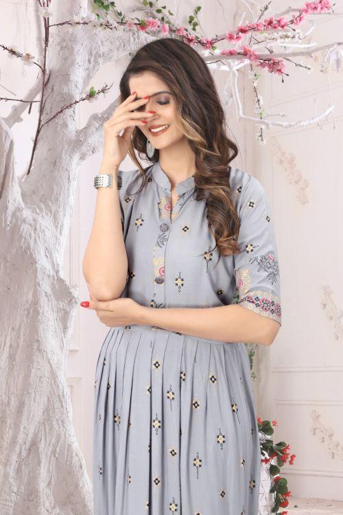 Saheri Flair Long Ethnic Wear Kurti Collection
