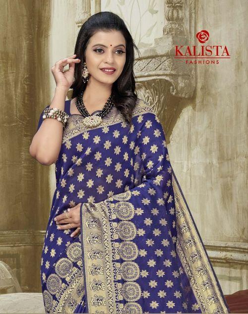 Kalista Ballika 3 Designer Banarasi SIlk Ethnic Wear Saree Collection