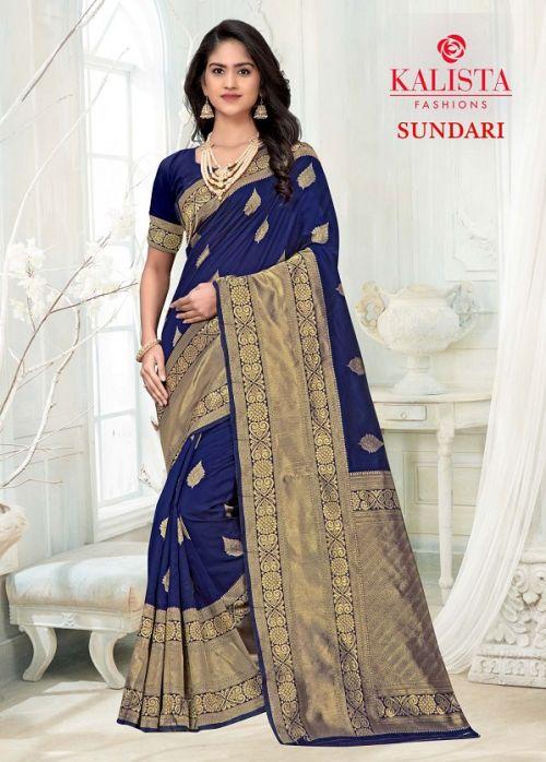 Kalista Sundari Banarasi Festive Wear Designer Saree Collection