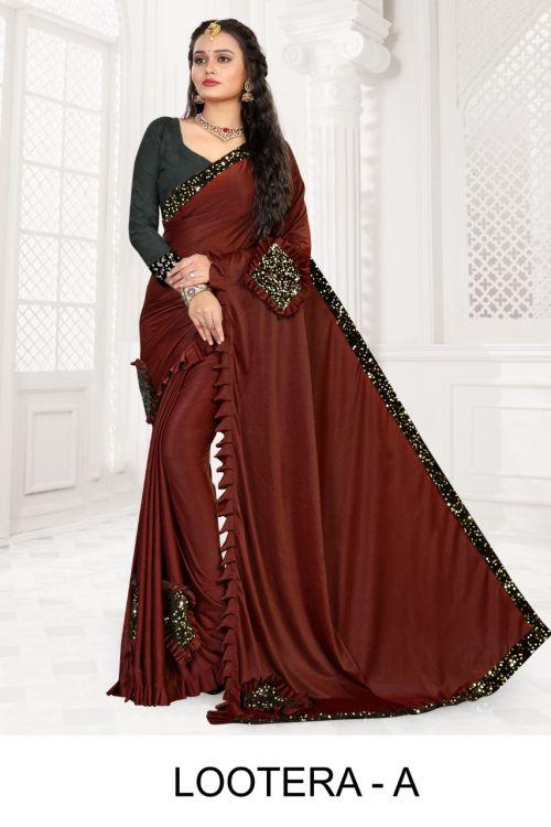 Ronisha lootera Bollywood style designer saree collection