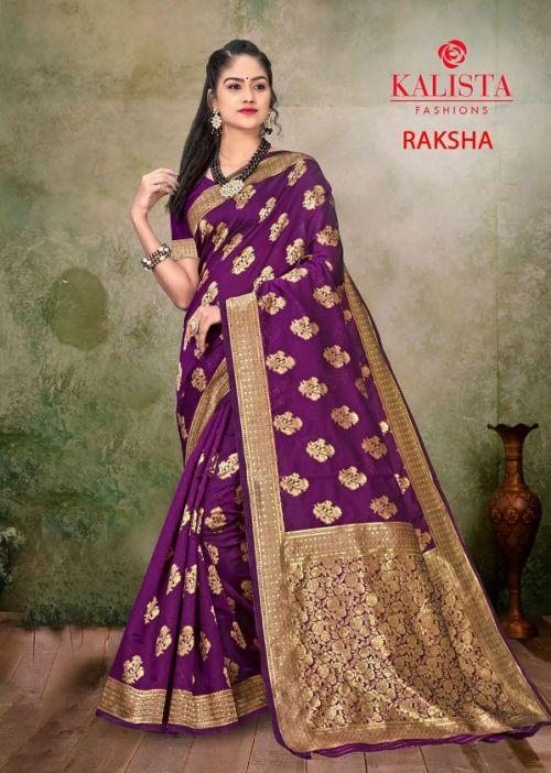 Kalista Raksha Party Wear Banarasi Silk Saree