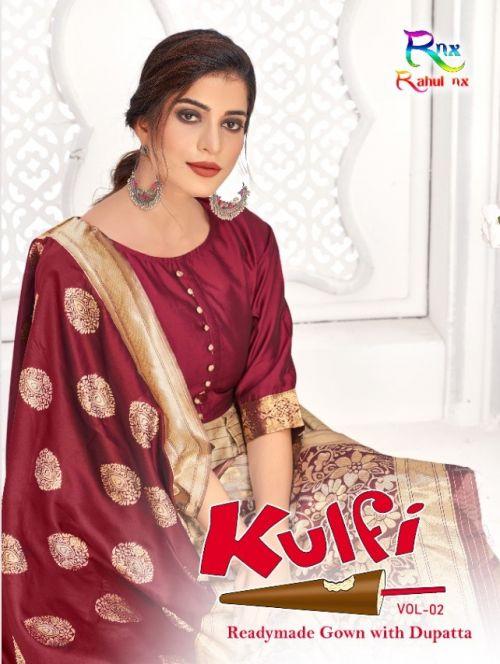 Rnx Kulfi 2 Kurti With Dupatta Collection