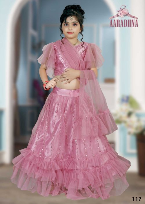 Aaradhna 3 Desighner Kids Lehenga Collection
