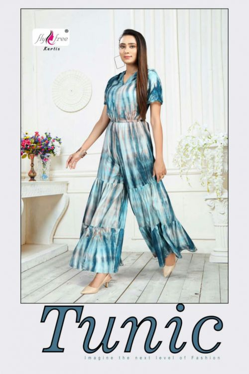 Fly Free Tunic Rayon Designer Jump Suit Collection