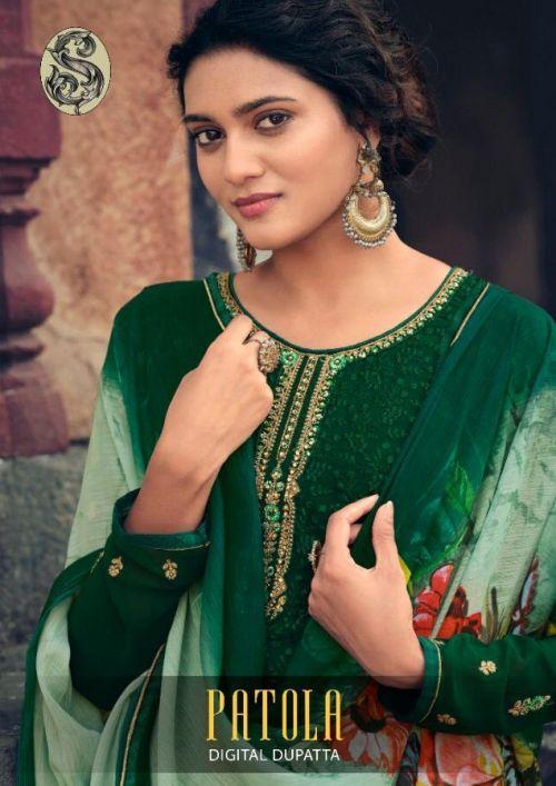 Patola 1 Georgette Designer Salwar Kameez Collection