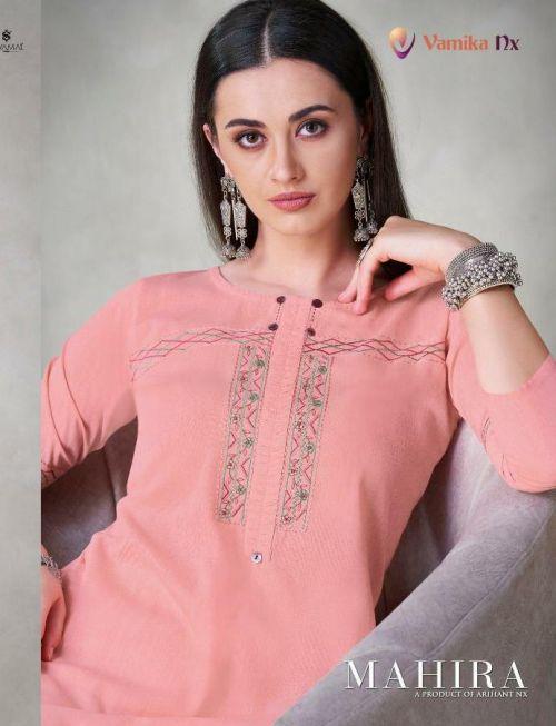 Vamika Mahira Straight Cut Long Kurti Collection