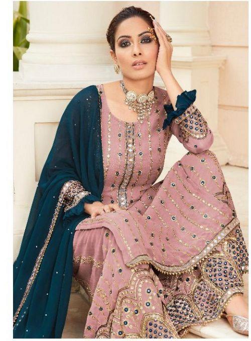 R Nazakat Designer Heavy Salwar Kameez Collection