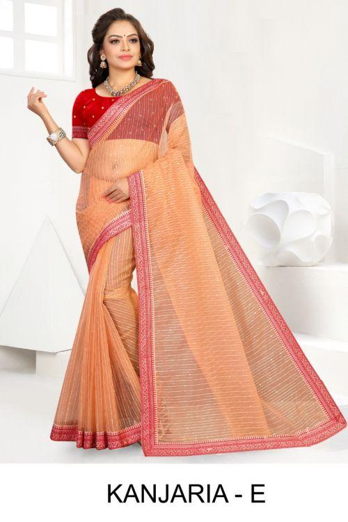 Ronisha Kanjaria Ethnic Wear Organza silk Saree Collection