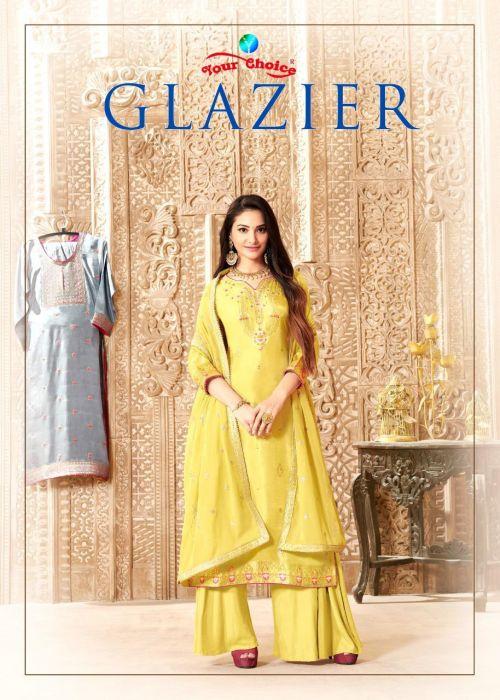 Your Choice Glazier Pure Dolla Silk Exclusive Salwar Kameez Collection