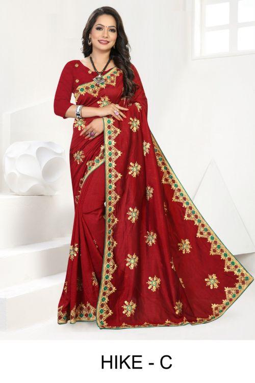 Ronisha Hike Festive Wear Designer Saree Collection