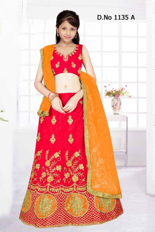 Kids Lehenga 1135 Designer Wedding Wear Lehenga Collection