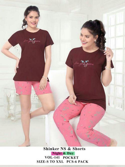 Fashion Talk night and Day Wear 141 Heavy Shinker Hosiery Cotton