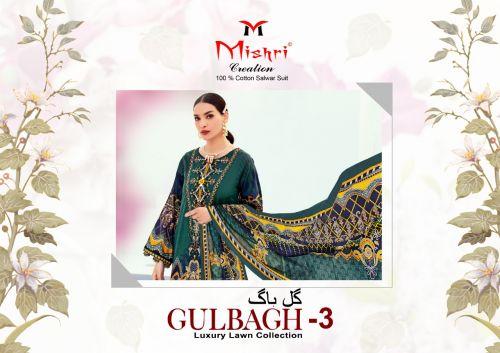 Mishri Creation Gulbagh 3 Luxury Lawn Collection