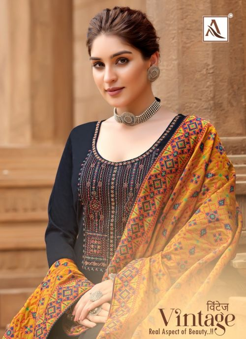 Alok Vintage 2 Ethnic Wera Deigner Salwar Kameez Collection