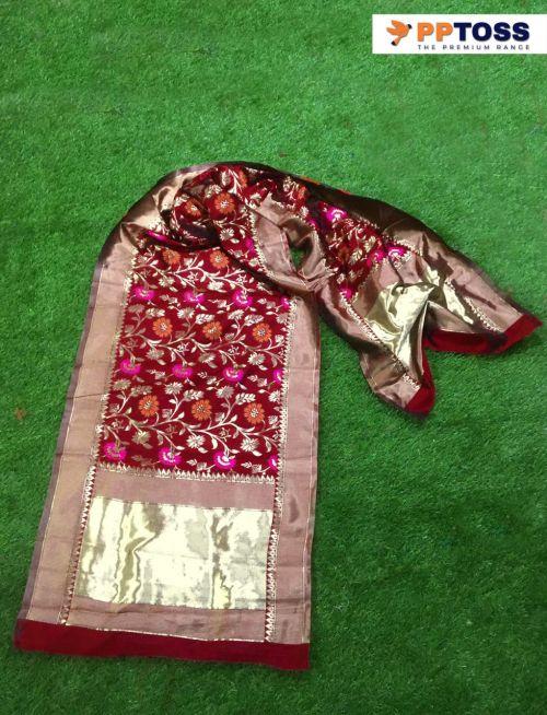 Pptoss Banarasi Silk Dupatta 3 Designer Dupatta Collection
