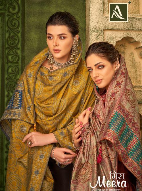 Alok Meera Fancy Wear Embroidery Salwar Kameez Collection