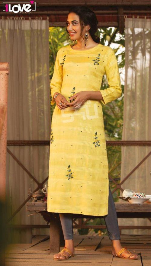 1Love Cotton Candy 2 Ethnic Wear Designer Kurti Collection