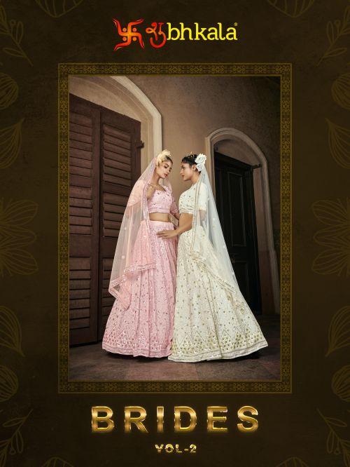 Kf Brides 2 Embroidery Work Lehenga Choli With Dupatta Collection