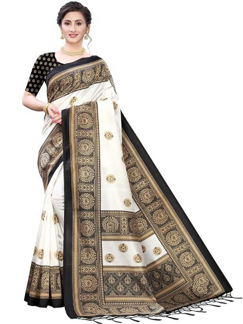 Pf 320 Casual Wear Cotton Printed Saree Collection
