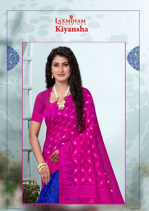 Kalista Kiyansha Casual Wear Cotton Silk Designer Saree Collection