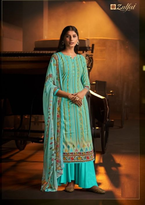 Zulfat Advika Cotton Printed Dress Material Collection
