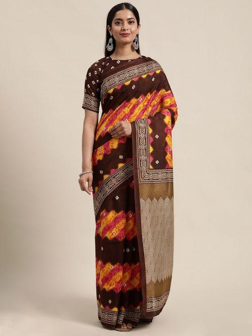 Dhapa Silk 101 Casual Wear Manipuri Printed Saree Collection