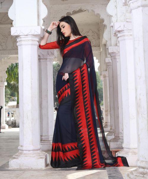 Hirva Sarva Casual Wear Printed Wear Saree Collection