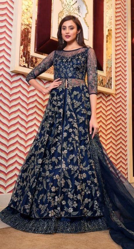 Super Hit 4629 Heavy Wear Embroidery Salwar Kameez Collection