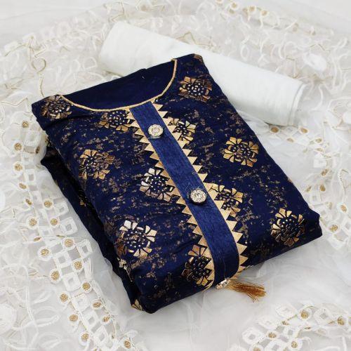 Modal Desiger 91 Chanderi Dress Material Collection
